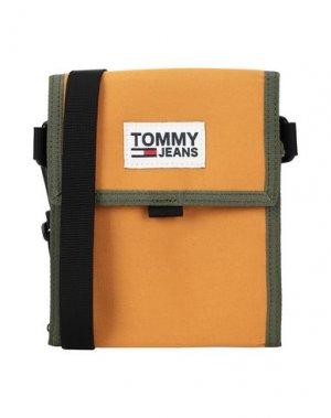 Бумажник TOMMY JEANS. Цвет: охра