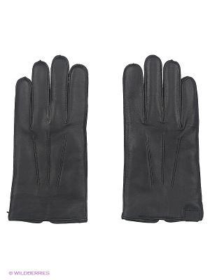 Перчатки Trussardi. Цвет: черный