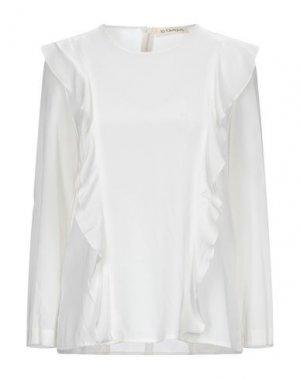 Блузка LA FABRIQUE. Цвет: слоновая кость