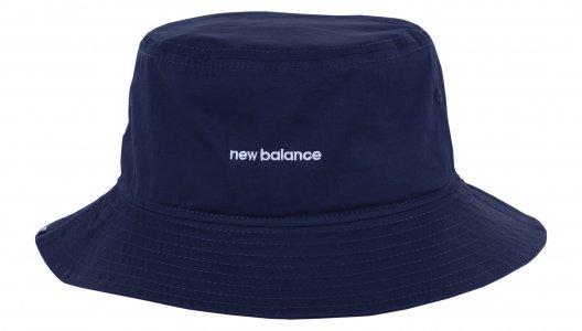 Кепки NB Bucket Hat New Balance. Цвет: синий