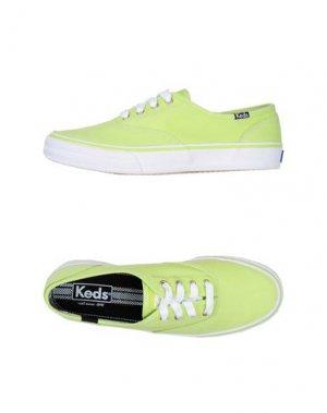 Кеды KEDS. Цвет: кислотно-зеленый