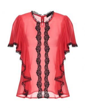 Блузка BLACK LABEL. Цвет: красный