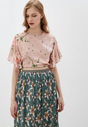 Блуза Belucci. Цвет: розовый
