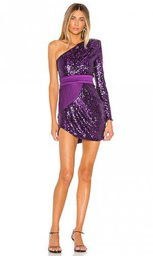 Платье die young stay pretty Zhivago. Цвет: фиолетовый