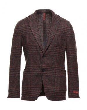 Пиджак ERNESTO. Цвет: красно-коричневый
