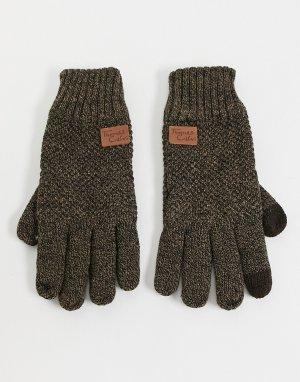 Перчатки -Коричневый цвет Thomas Calvi