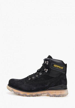 Ботинки трекинговые Caterpillar BASEPLATE. Цвет: черный