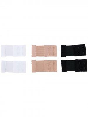 Комплект из трех упаковок расширителей для бюстгальтера Fashion Forms. Цвет: черный