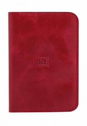 Обложка для паспорта Reconds. Цвет: красный