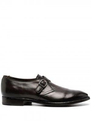 Туфли монки Officine Creative. Цвет: коричневый