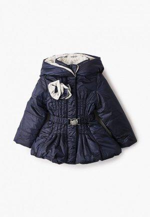 Куртка утепленная Alessandro Borelli Milano. Цвет: синий