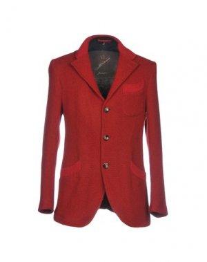 Пиджак MONTECORE. Цвет: красный