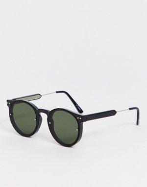 Черные круглые солнцезащитные очки Post Punk-Черный Spitfire