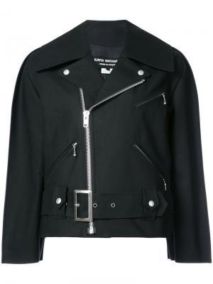 Куртка-бомбер в стиле оверсайз Junya Watanabe. Цвет: черный
