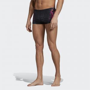 Плавки-боксеры Pro 3-Stripes Graphic Performance adidas. Цвет: красный