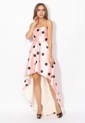 Платье Tutto Bene. Цвет: розовый