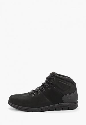 Ботинки Timberland Bradstreet Hiker BLACK. Цвет: черный