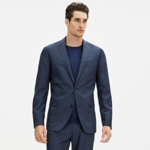 Пиджак зауженный Fuhit CELIO. Цвет: синий