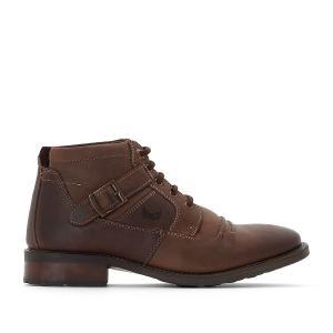 Ботинки кожаные GRAND KAPORAL. Цвет: темный каштан
