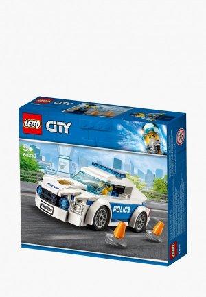 Конструктор LEGO City 60239 Автомобиль полицейского патруля. Цвет: разноцветный