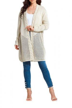 Пуловер Lemoniade. Цвет: бежевый