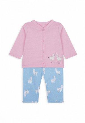 Пижама Mothercare. Цвет: разноцветный