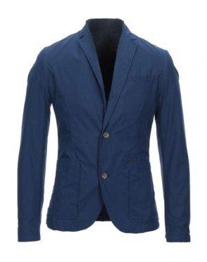 Пиджак GUESS. Цвет: синий