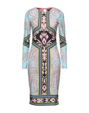 Платье до колена HALE BOB. Цвет: небесно-голубой