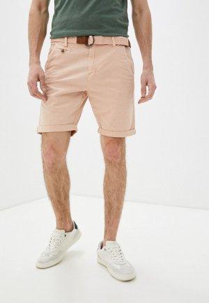 Шорты Indicode Jeans. Цвет: розовый