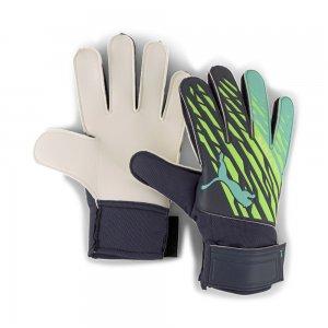 Вратарские перчатки ULTRA Grip 4 RC Goalkeeper Gloves PUMA. Цвет: зеленый