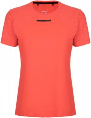 Футболка женская Vent Mesh, размер 46-48 Craft. Цвет: красный