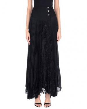 Длинная юбка BABYLON. Цвет: черный