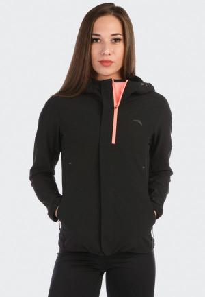 Ветровка Anta Running Jogging. Цвет: черный