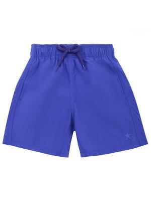 Плавательные шорты для мальчика VILEBREQUIN. Цвет: синий