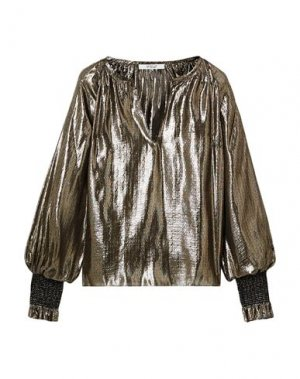 Блузка DEREK LAM 10 CROSBY. Цвет: золотистый