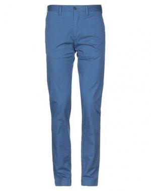 Повседневные брюки HENRY COTTON'S. Цвет: грифельно-синий