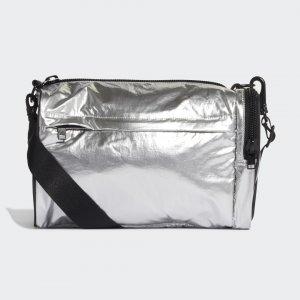 Спортивная сумка Y-3 Mini by adidas. Цвет: серебристый