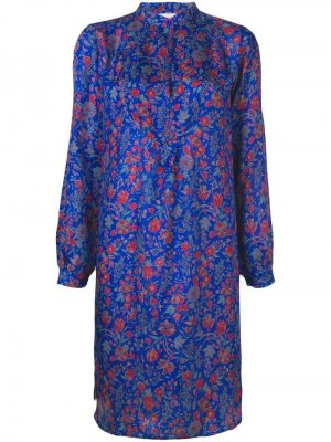 Платье Silky Antik Batik. Цвет: синий