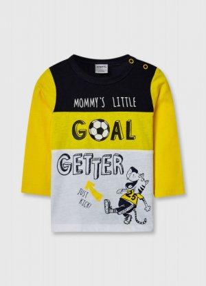 Футболка для мальчиков O`Stin. Цвет: желтый