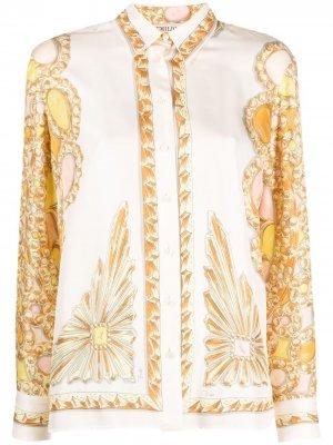 Рубашка с принтом Emilio Pucci. Цвет: нейтральные цвета