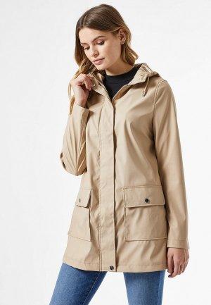 Куртка утепленная Dorothy Perkins. Цвет: серый