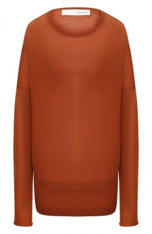 Кашемировый пуловер Isabel Benenato. Цвет: оранжевый
