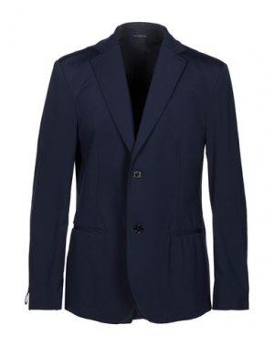 Пиджак GREY DANIELE ALESSANDRINI. Цвет: темно-синий