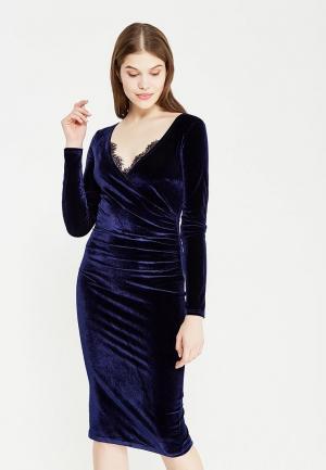 Платье Zerkala. Цвет: синий