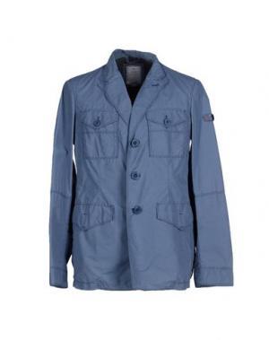Пиджак PEUTEREY. Цвет: грифельно-синий