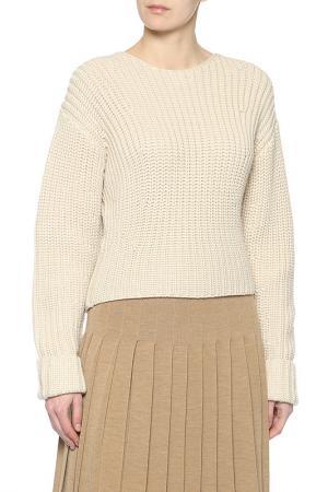 Пуловер Celine. Цвет: бежевый