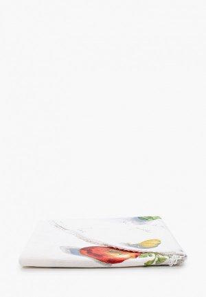 Полотенце кухонное La Peonia. Цвет: белый