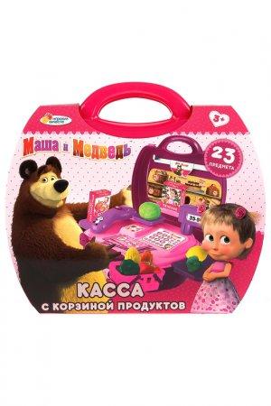 Касса Маша и Медведь, 23 пр Играем вместе. Цвет: розовый