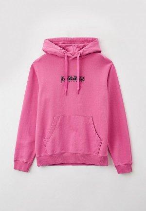Худи Napapijri B-BOX. Цвет: розовый