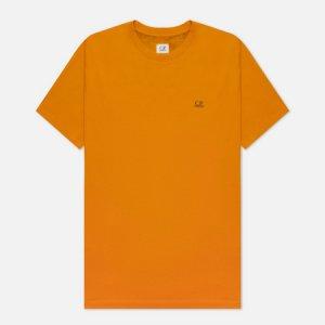 Мужская футболка Jersey Goggle Print C.P. Company. Цвет: оранжевый